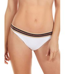 bikini selmark lage taille bikinibroekje marinera jacquard mare