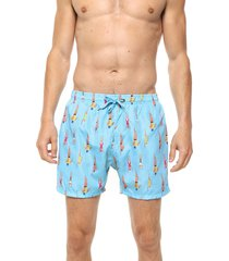 traje de baño celeste chelsea market nadadores