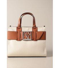 armani exchange handbag armani exchange canvas handbag