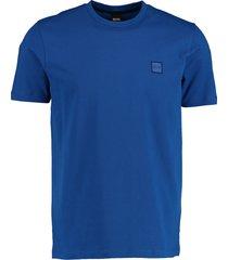 hugo boss shirt tales kobaltblauw rf 50389364/463