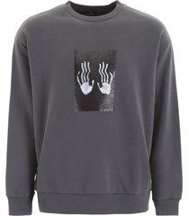 marcelo burlon hands square sweatshirt
