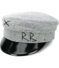 ruslan baginskiy military baker boy hat - grey