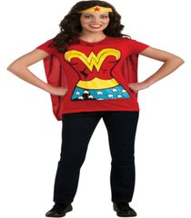 buy seasons women's wonder woman t-shirt costume kit