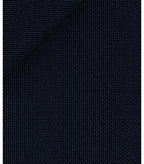 pantaloni da uomo su misura, vitale barberis canonico, 2-ply blu armaturati, primavera estate | lanieri