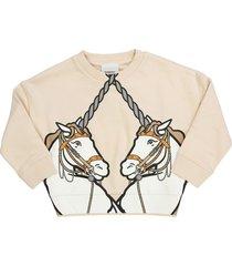 burberry lilia unicorn print cotton sweatshirt