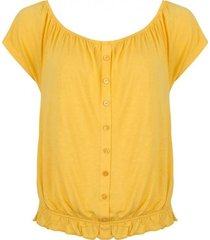 hs19.30226 top cropped buttons yellow