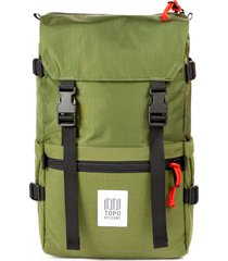 topo designs classic rover backpack - green