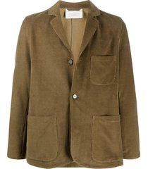 a kind of guise tiro corduroy blazer - brown