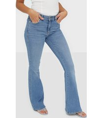 dr denim macy bootcut & flare light blue