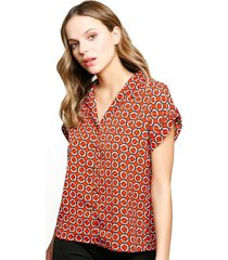blusa mar naranja eclipse