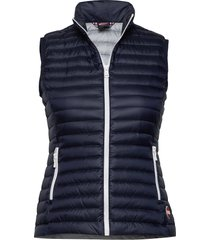 ladies down vest vest blauw colmar