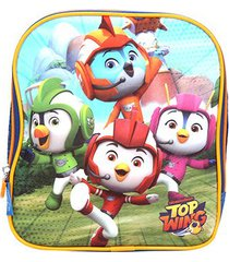 lancheira escolar infantil pacific top wing nickelodeon squad