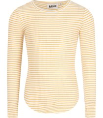 molo white and yellow t-shirt for girl
