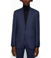 boss men's jeckson/lenon2 regular-fit virgin-wool suit