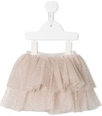 tutu du monde bébé diamond dust skirt - pink