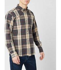 barbour men's sandwood shirt - stone - xxl