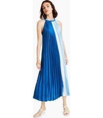 alfani colorblocked pleated dress, created for macy's