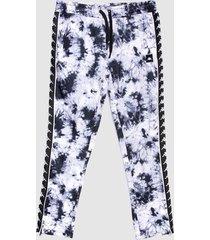 pantalón de buzo kappa multicolor - calce regular