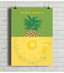 ananas - plakat fine art 50x70 cm