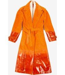 trench coat orange 40