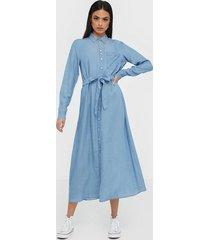 selected femme slfmarla-florenta ls shirt dress e loose fit dresses