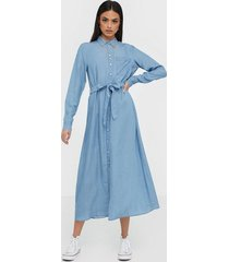 selected femme slfmarla-florenta ls shirt dress e loose fit dresses