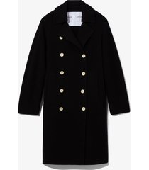 proenza schouler white label double face double breasted coat /black l