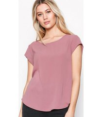 only onlvic s/s solid top noos wvn toppar ljus rosa
