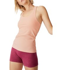cotton on active fitted tank top