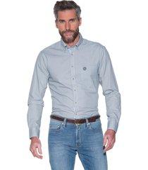 campbell casual shirt met lange mouwen