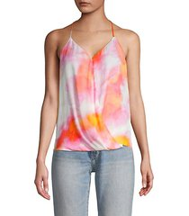 harlow sunset tie halter top