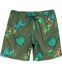 shorts oakley tropical trunk masculino
