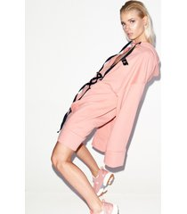 bluza peach oversized real lies