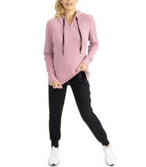 women's maternity nursing lounge jumper and pant set, 2 piece