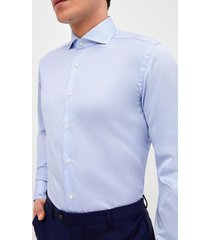 camisa formal celeste trial