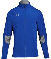 chaqueta de hombre squad wvn w-up jkt under armour - azul