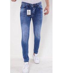 true rise nette stretch jeans slim fit