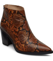 mirte_vp shoes boots ankle boots ankle boot - heel brun unisa