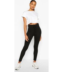 everyday jersey legging, black