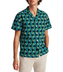 bonobos cabana toucan short sleeve cotton button-up camp shirt, size x-large in tocan do it spontaneous at nordstrom