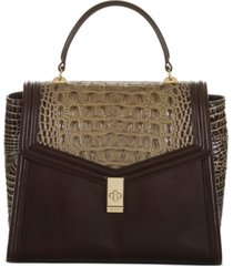 brahmin coffee norland ingrid satchel