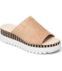 pantolette shoes summer shoes flat sandals beige gabor