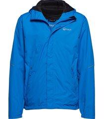 caima m dx shell jacket outerwear sport jackets blauw halti