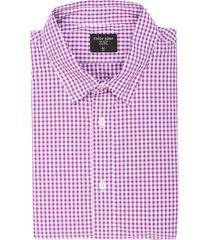 camisa manga larga color siete para hombre  - morado
