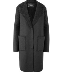 cappotto con interno bouclé (nero) - bpc bonprix collection