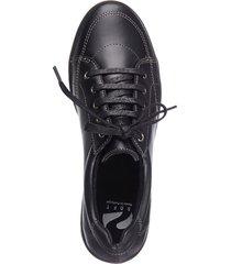 breda bekväma skor naturläufer svart