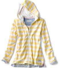 organic cotton french terry full-zip hoodie