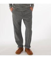 oliver spencer drawstring trousers - kemble blue osmt48a-kem01blu