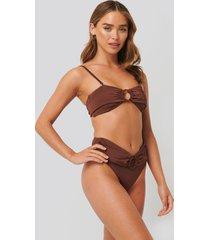trendyol bikiniunderdel - brown
