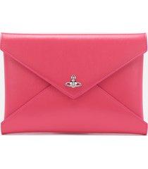 vivienne westwood women's bella pouch - pink